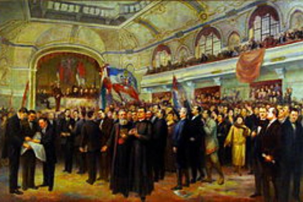 Tovarišani na Velikoj narodnoj skupštini – 25.11.1918. (foto)