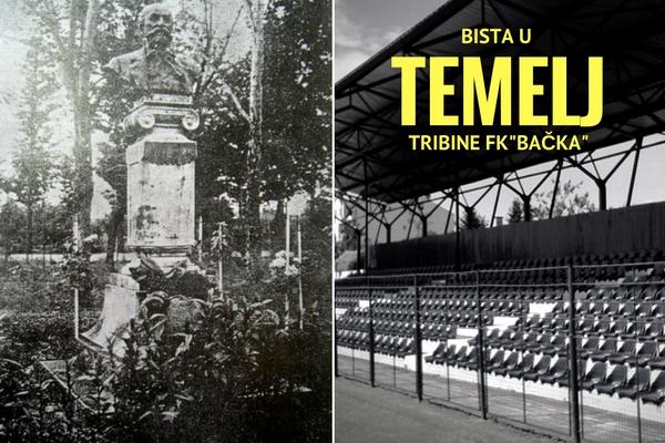 Bista Karla Mezeija u temeljima tribine stadiona Bačke?!