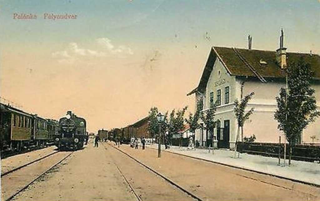 Dok su vozovi prolazili Bačkom Palankom (GALERIJA)