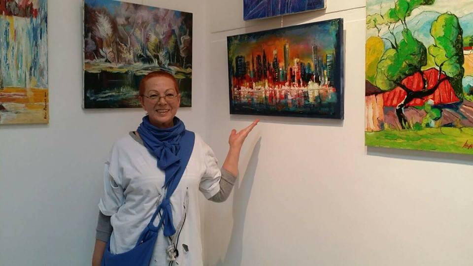 Palanački slikari: Ljiljana Nedeljkov