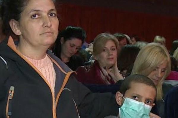 Humanitarni koncert za dečaka iz Tovariševa
