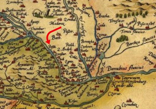 Stare Mape Backe Palanke Kao Svedoci Istorije