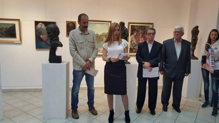 Otvorena izložba crteža, slika i skulptura