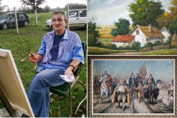 Palanački slikari: Nenad Devrnja