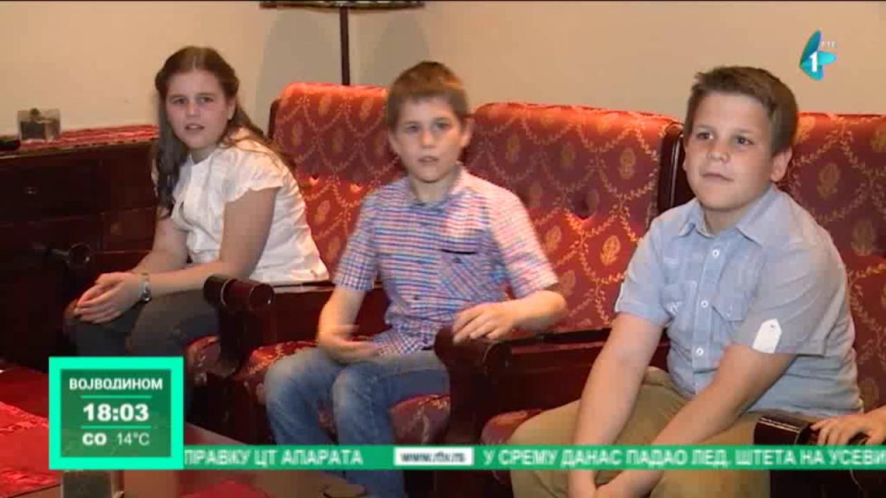 Složna porodica sa desetoro dece