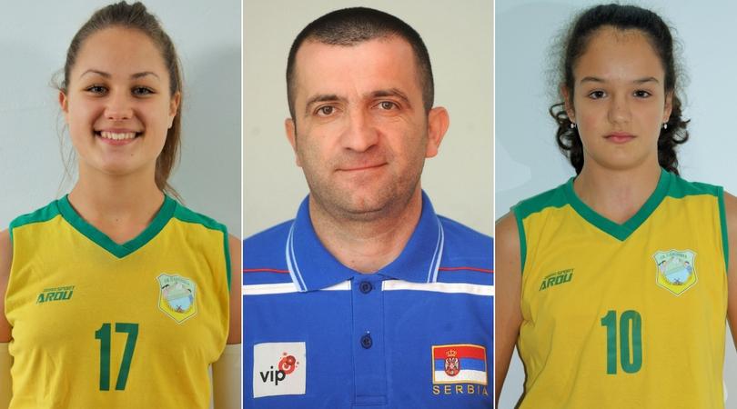 Irina Milanović i Jovana Zelenović su pozvane na pripreme reprezentacije Srbije
