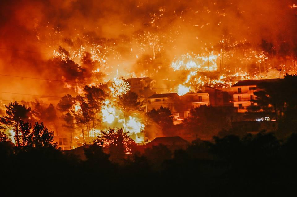 Panorama Splita nakon požara! (VIDEO)