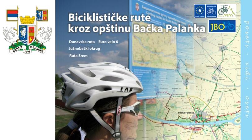 Biciklističke rute kroz opštinu Bačka Palanka