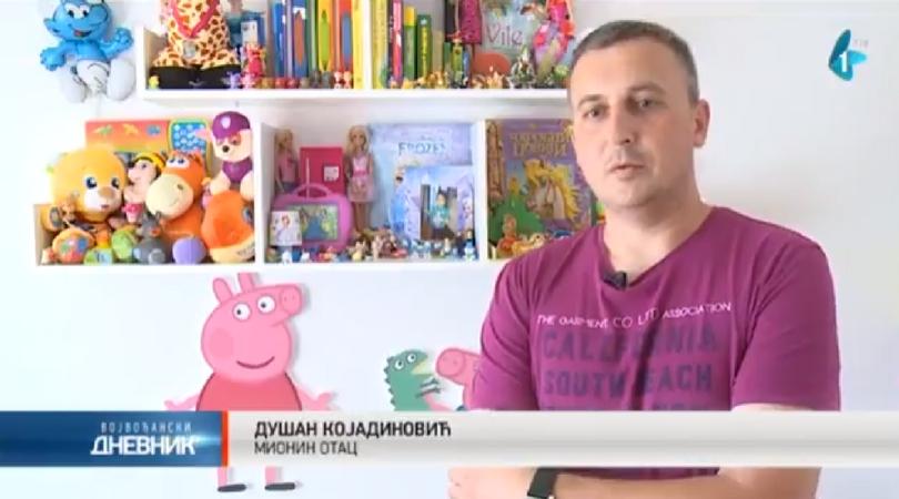 SMS za pomoć maloj Mioni Kojadinović (VIDEO)