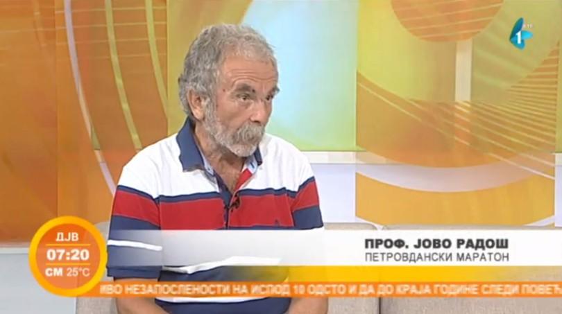 Jovo Radoš će istrčati svoj 28. Petovdanski maraton (VIDEO)