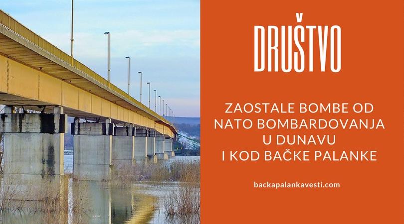 U Dunavu kod Bačke Palanke još ima bombi od NATO bombardovanja