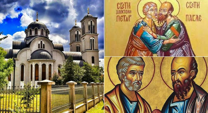 Danas slavimo Petrovdan – dan svetih apostola Petra i Pavla