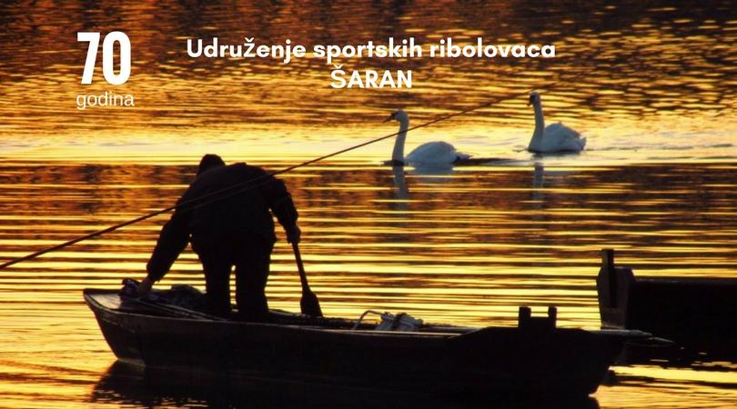 """70 godina – Udruženje sportskih ribolovaca """"Šaran"""""""