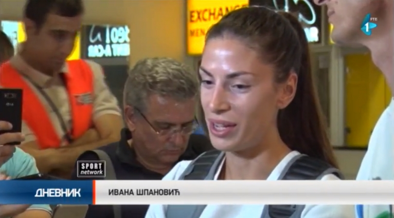 Doček šampionke Ivane Španović (VIDEO)