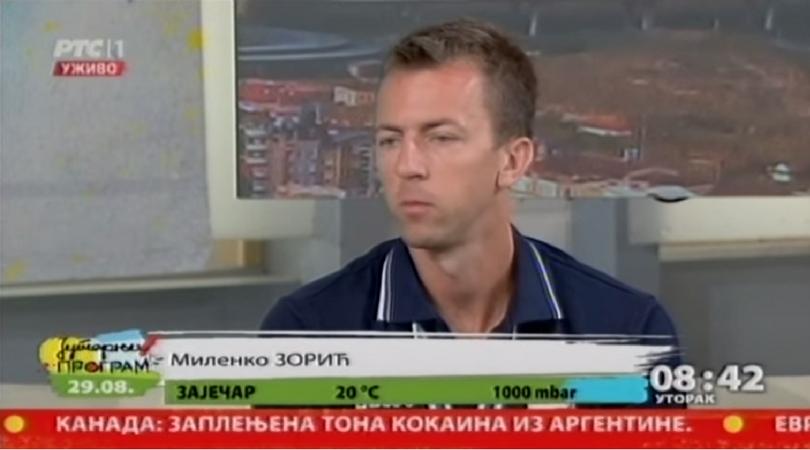 Milenko Zorić – reč šampiona (RTS)