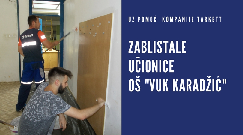 "U OŠ ""Vuk Karadžić"" uspešno sprovedena radna akcija"