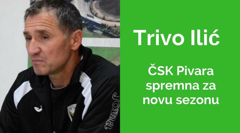 ČSK Pivara spremna za gostovanje Sinđeliću