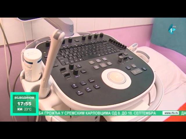 Pet vozila i ultrazvučni aparat Domu zdravlja u Bačkoj Palanci (VIDEO)