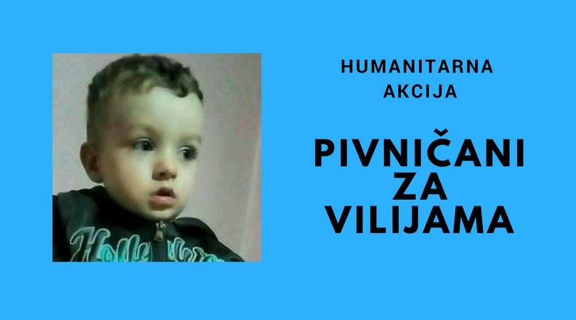 Humanitarna akcija za Vilijama se nastavlja