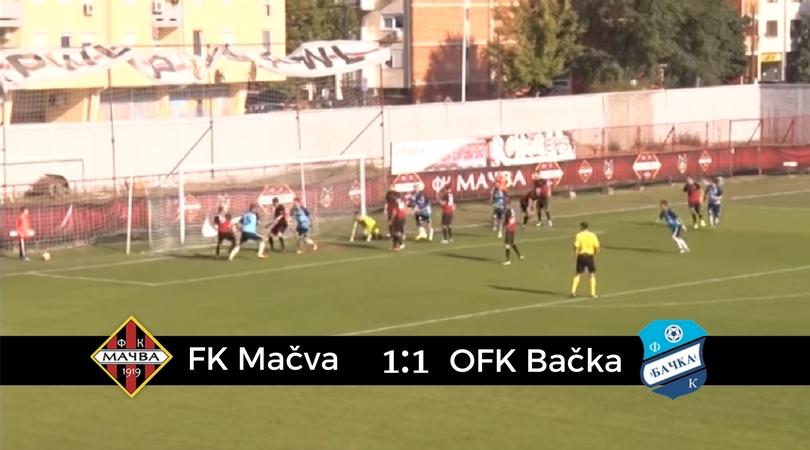 FK Mačva – OFK Bačka 1:1 (VIDEO)