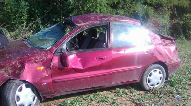 Ukrao automobil, slupao ga vozeći 160 km/h i polomio dva pršljena