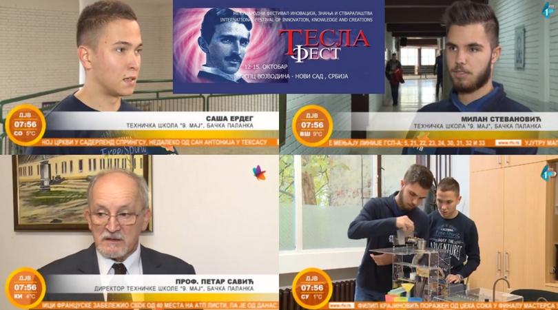 """Učenici Tehničke škole """"9. maj"""" – perspektivni inovatori (VIDEO)"""