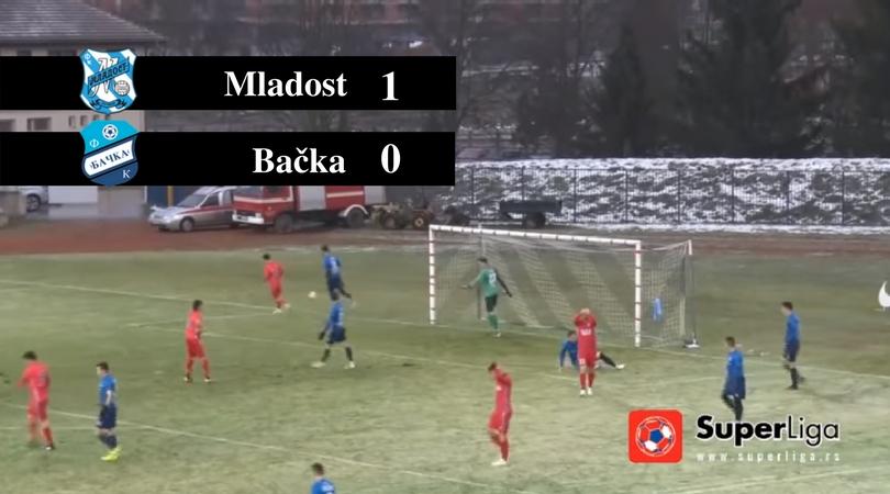 FK Mladost – OFK Bačka 1:0 (VIDEO)