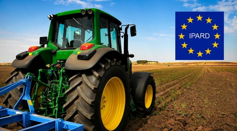 Poziv poljoprivrednicima za korišćenje IPARD sredstava 20. decembra