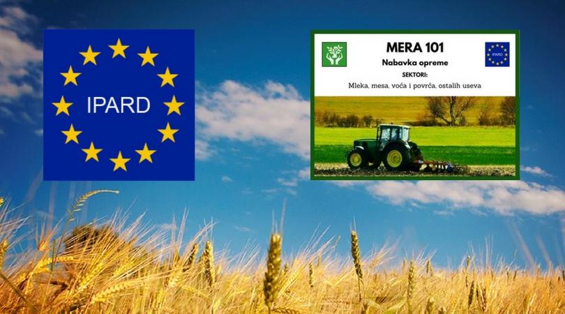 Do kraja meseca prvi konkursi iz IPARD fondova, traktor za početak
