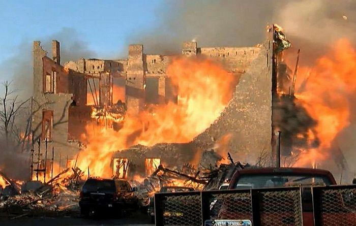 Zapalio deo grada imitirajući ono što je gledao na televiziji