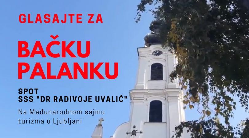 """Glasajte za spot SSS """"Dr Radivoj Uvalić"""" na sajmu u Ljubljani"""