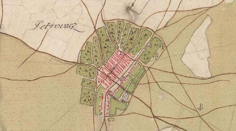 Stare Mape Petrovca Kroz Istoriju