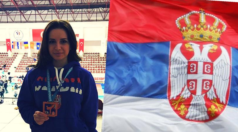 Nova medalja Bojane Mladežić sa Prvenstva Balkana