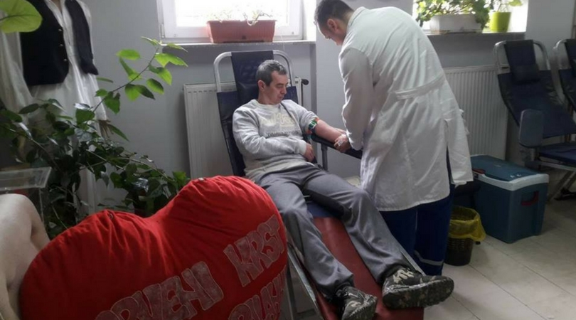 Ovog meseca na akcijama dobrovoljnog davanja krvi 218 davaoca