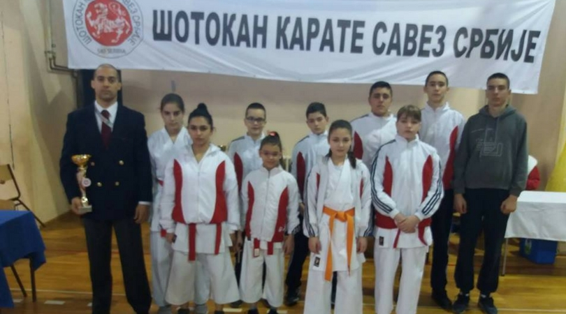"Osam medalja za karatiste ""Kizamija"""