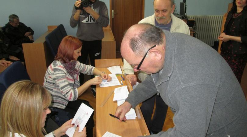 Dodeljene penzionerske kartice u Bačkoj Palanci