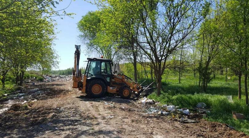 Sanirano smetlište sa javne površine u Čelarevu