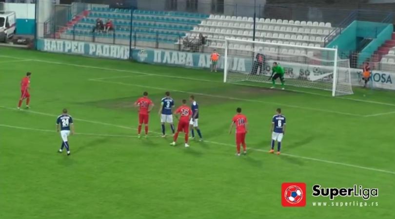 Igrač više, propušten penal i poraz Bačke u Surdulici (VIDEO)