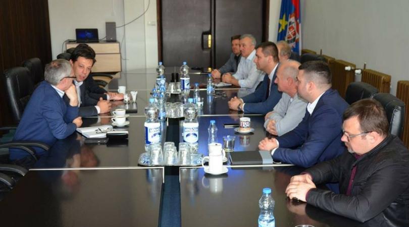 Radni sastanak Opštine Bački Petrovac i Opštine Novi Bečej