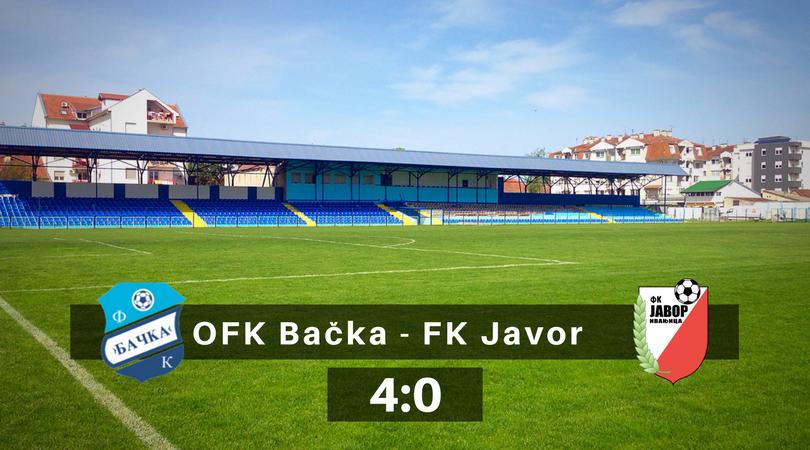 Ubedljiva pobeda Bačke – Prvi od tri koraka u borbi za opstanak