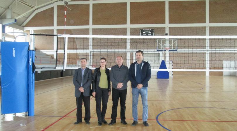 Završetak sportskog opremanja hale u Gajdobri
