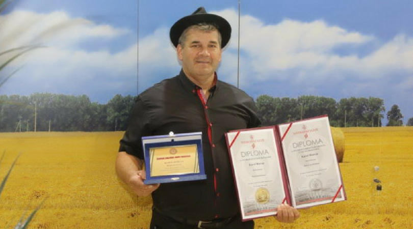 Kulen Karola Horvata iz Bačkog Petrovca šampion kvaliteta 85. Međunarodnog sajma poljoprivrede u Novom Sadu