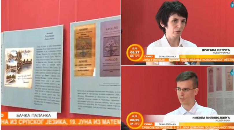 "Izložba ""Prva bačkopalanačka štamparija"" (VIDEO)"