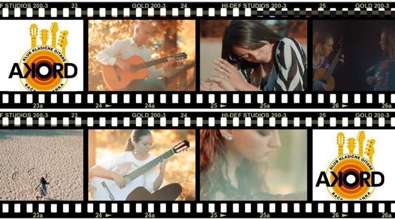 Novi spot: Klub klasične gitare AKORD & balerina Emina Bašić