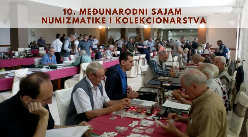 Održan 10. jubilarni Međunarodni sajam numizmatike i kolekcionarstva