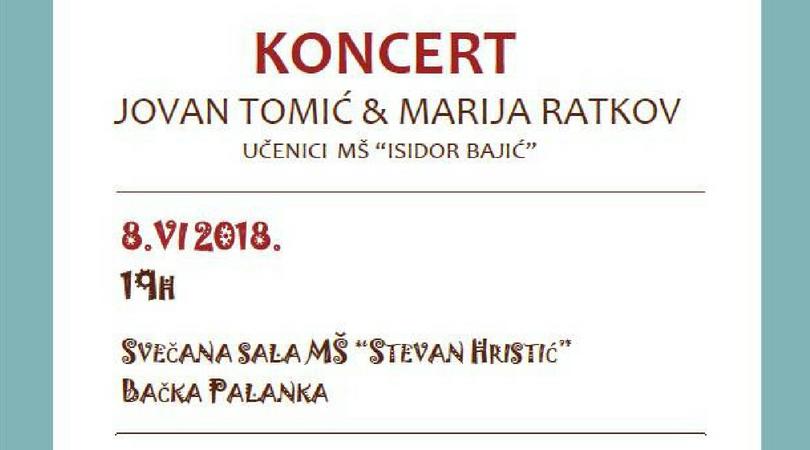 Humanitarni koncert za Draganu Stanimirov