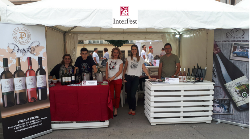 """Predstavnici opštine Bačka Palanka na Festivalu vina """"Interfest"""""""