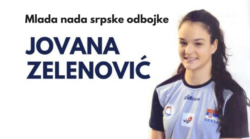 Jovana Zelenović jedna u nizu perspektivnih odbojkašica iz Bačke Palanke