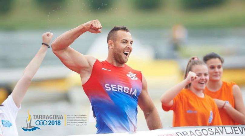 Srebrna medalja za Marka Dragosavljevića na Mediteranskim igrama