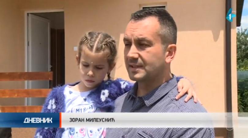 Mileusnići dobili svoj novi dom (VIDEO)